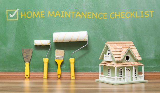 seasonal home maintanence checklist